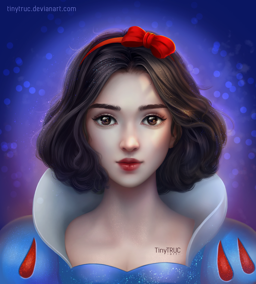 Snow White Princess by TinyTruc