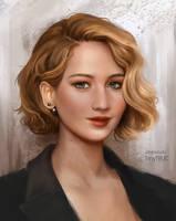 Jennifer Lawrence by TinyTruc