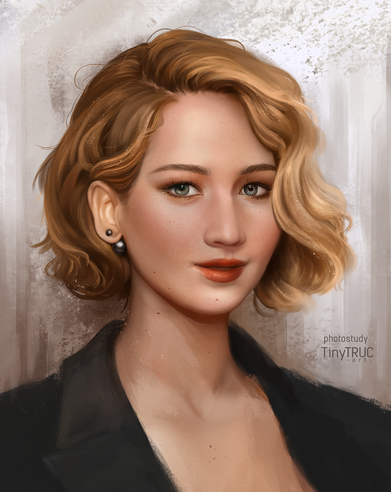 Jennifer Lawrence by TinyTruc
