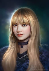 Lisa Black Pink fan art