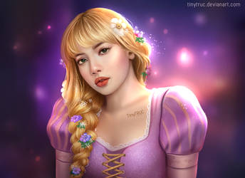 Rapunzel Lalisa by TinyTruc