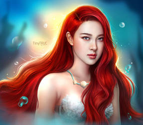 Rose Ariel - The little mermaid by TinyTruc