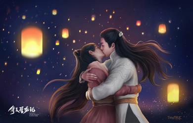 Wu Ji Zhao Min -The heaven sword and dragon sabre by TinyTruc