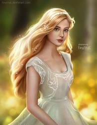 Elle Fanning - Aurora Princess fan art