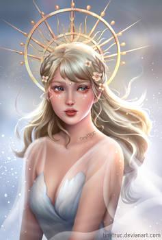Princess Aphrodite - Greek Godess Art
