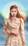 Jennie Blackpink fan art - Capricorn Zodiac