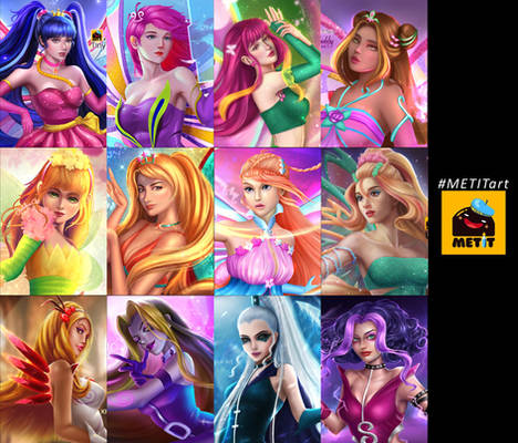 WINX CLUB fanart by METIT