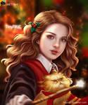 Hermione Granger fan art from Harry Potter
