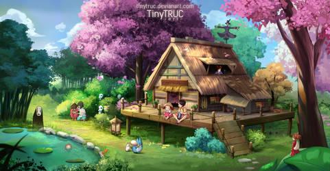 My dreamy village