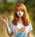 Autumn Girl - Semi Realistic