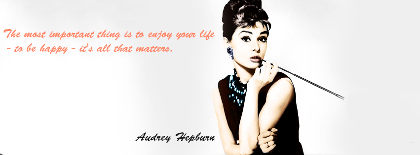 audrey hepburn quotes desktop wallpaper