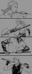 Nomads sketches #4 by skitalets