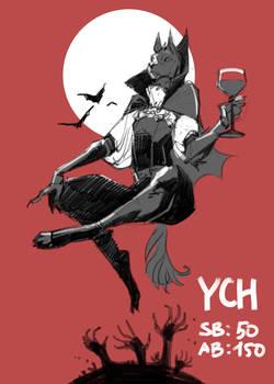 Halloween YCH 3/4