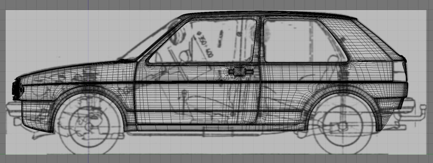 Golf mk2 mesh over a blueprint by andy250 on deviantart golf mk2 mesh over a blueprint by andy250 malvernweather