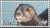 I love Minks Stamp by Stenellya