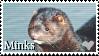 I love Minks Stamp by Stenellya