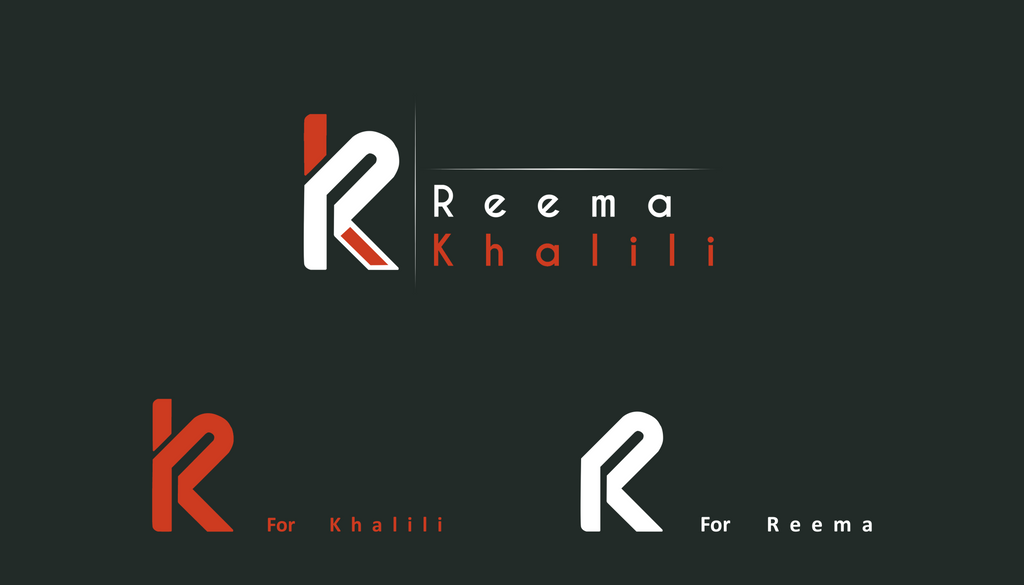 My personal logo by Reemakhalily