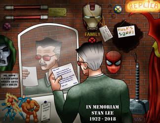 In Memoriam: Stan Lee (1922-2018) by GC6