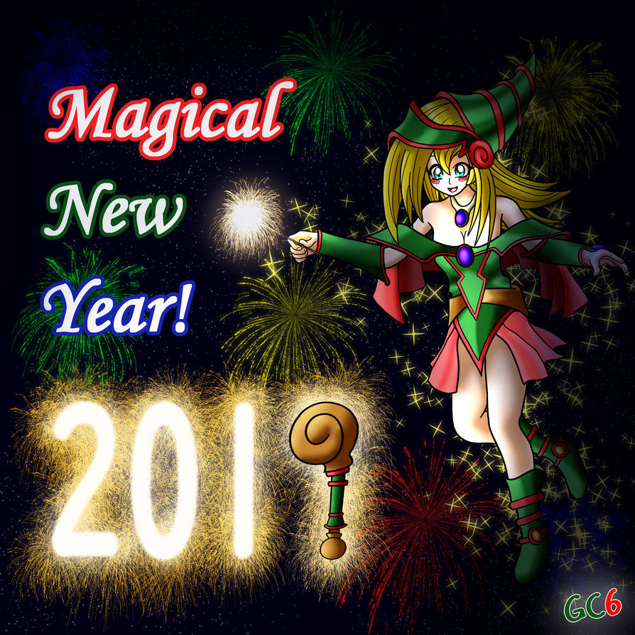Magical New Year 2019! by GC6