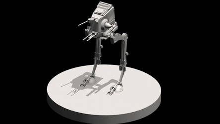Star Wars AT-NT by marcferrandiz