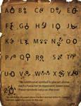 Orcish Alphabet (Alpha)