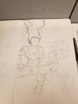 Hunter Sketch