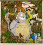 Jo y Totoro by Denkathor