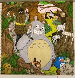 Jo y Totoro