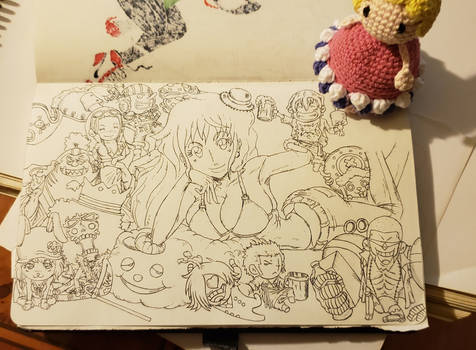 Nami and all Toys Friends