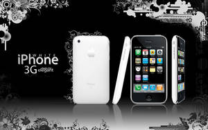 iPhone 3G WHITE by rachismyname