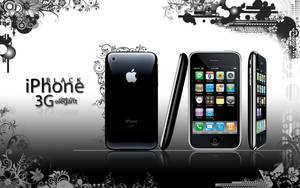 iPhone 3G BLACK by rachismyname