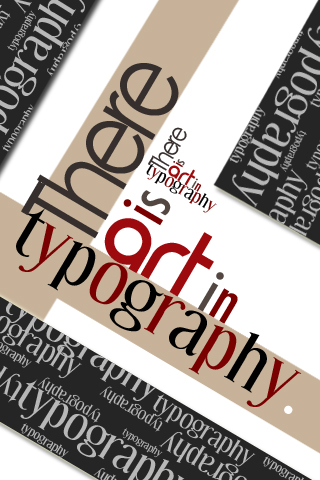 art in Typography by rachismyname