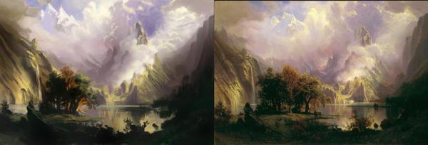 Master study - Albert Bierstadt by litterbugger
