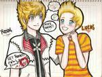 Roxas and Lucas