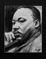 Martin Luther King Jr. - Tribute Drawing