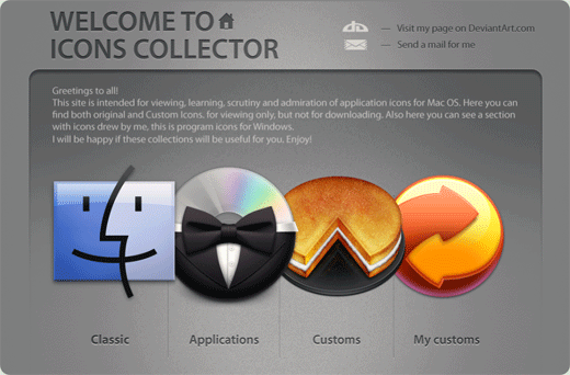 Icons Collector by ncrow