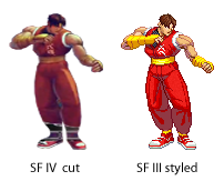 guy ripped from SF4 by ncrow