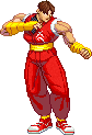 Guy sprite SF3 styled by ncrow
