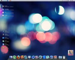 Win 7 Mac OS Desktop Screensho by ncrow
