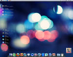 Win 7 Mac OS Desktop Screensho