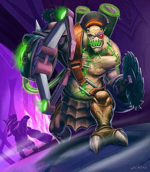 WoW Gatewatcher Gyro-Kill