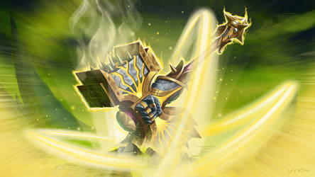 Paladin WoW Legion Artifact: Holy