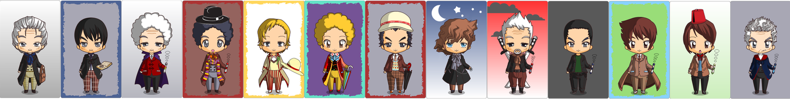 The Chibi Doctors by Rain-Ral
