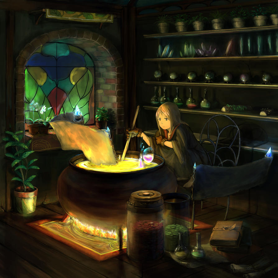 Magic room by you629 on DeviantArt