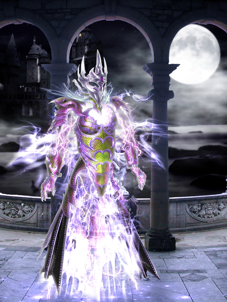 Lightning Elemental By Dragon Kiss On