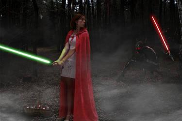 Padawan  Red Riding Hood by Dragon-Kiss