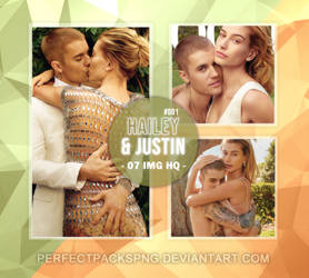 Photopack #742: Justin and Hailey Bieber by PerfectPacksPNG