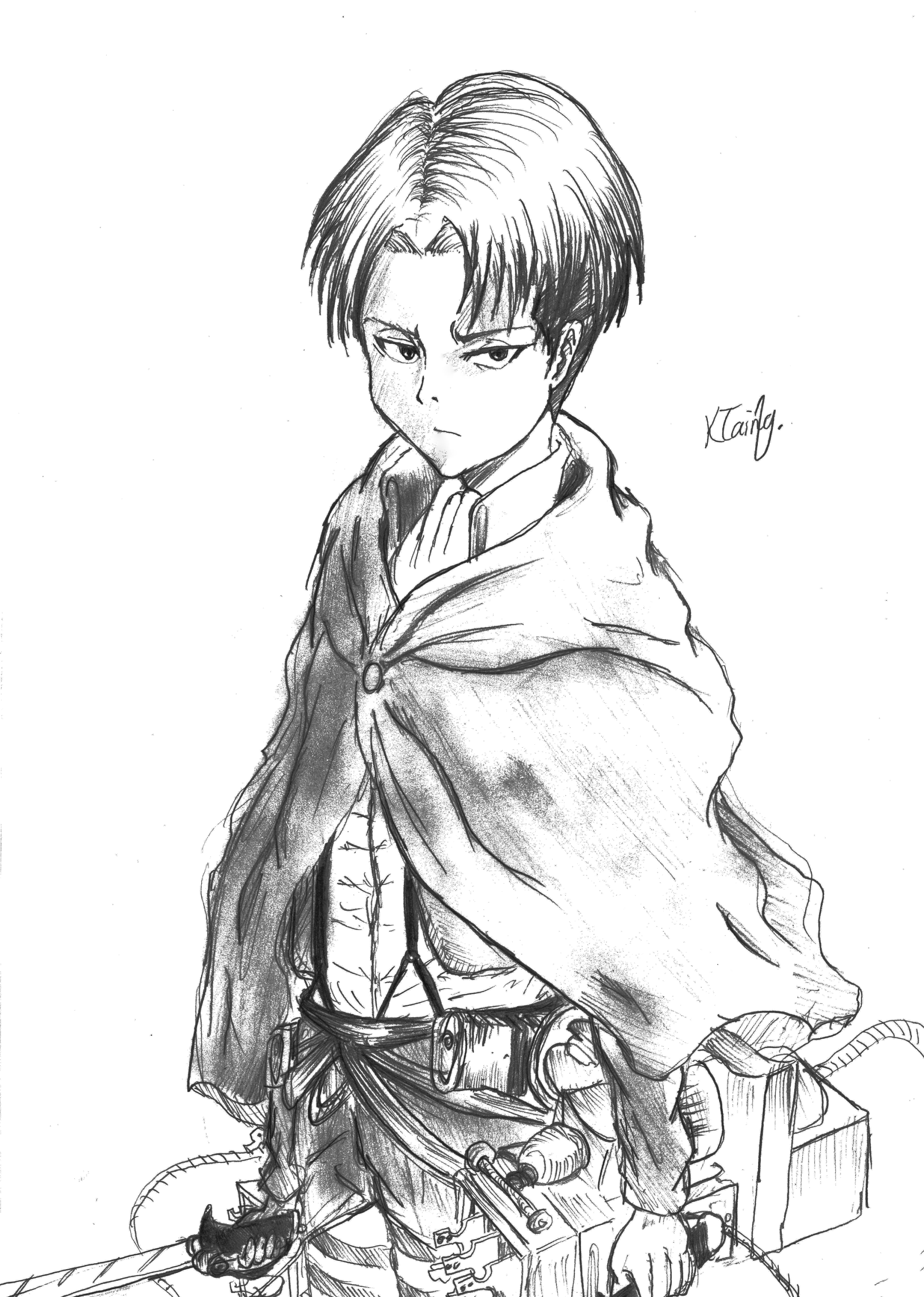 Levi From Shingeki No