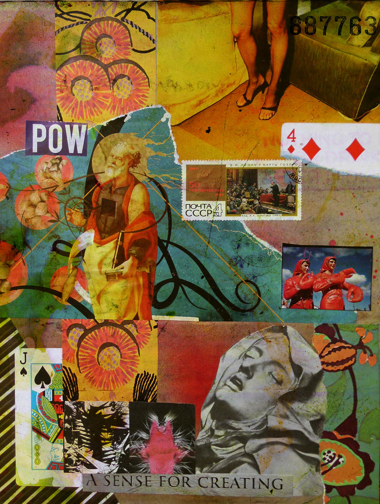 POW - A Sense For Creating by fleetofgypsies