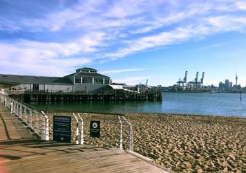 RoadtripNZ - Devonport Wharf -Auckland City by fleetofgypsies
